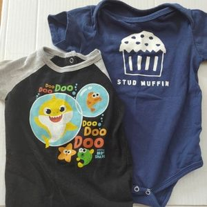 Two Novelty Onesies